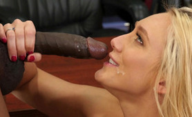 The Smile on Her Face Says It All - Blonde Loves BBC